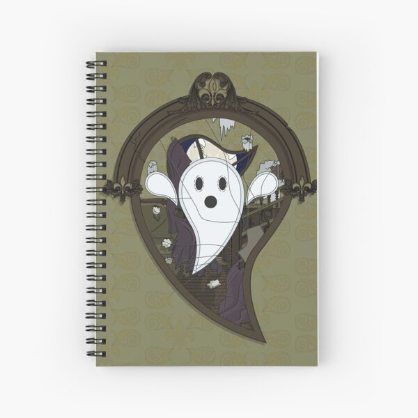 Ooh the Ghost Spiral Notebook