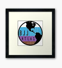 BJJ Atlas Framed Print
