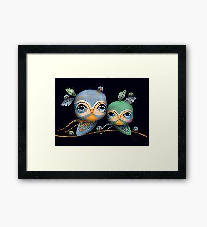 Bird Life Framed Print