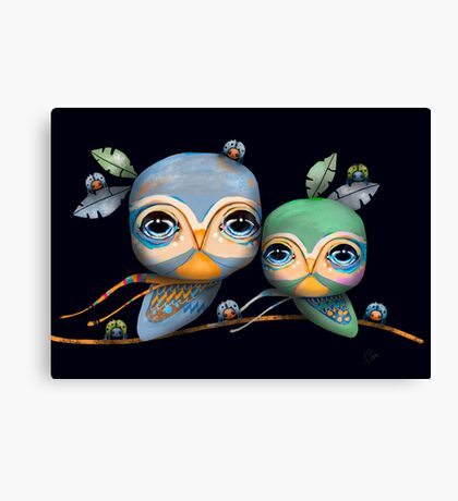 Bird Life Canvas Print