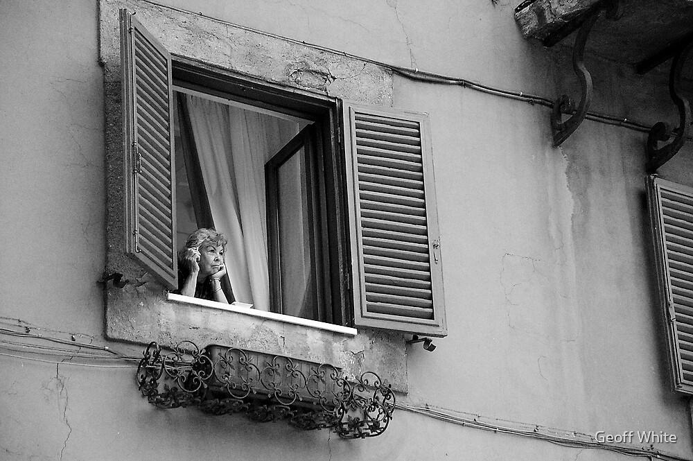 Italian Woman by Geoff White