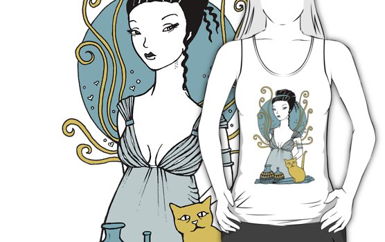 Aphrodite Tee by Anita Inverarity
