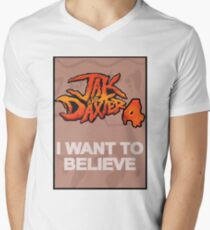 I Want to Believe: Jak and Daxter 4 Men's V-Neck T-Shirt