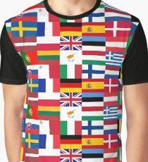 FLAG ME-EUROPEAN UNION Graphic T-Shirt