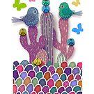 Cactus Garden by Karin Taylor