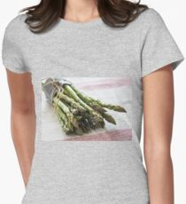 Asparagus Womens Fitted T-Shirt