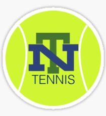 New Trier Tennis Sticker