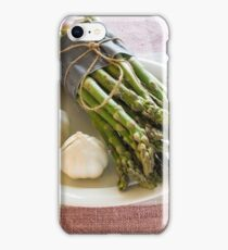 Asparagus and Garlic iPhone Case/Skin