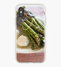 Asparagus and Garlic iPhone Case