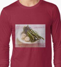 Asparagus and Garlic Long Sleeve T-Shirt