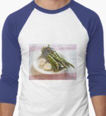 Asparagus and Garlic Men's Baseball ¾ T-Shirt