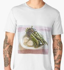 Asparagus and Garlic Men's Premium T-Shirt
