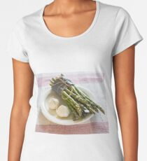 Asparagus and Garlic Women's Premium T-Shirt