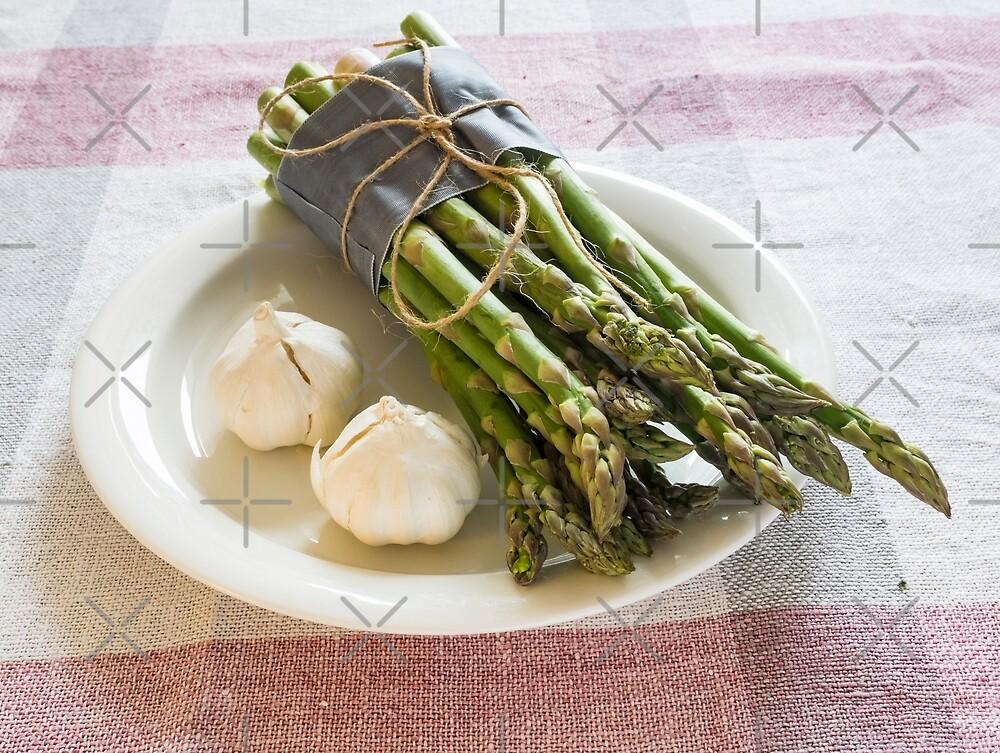 Asparagus and Garlic by ansaharju