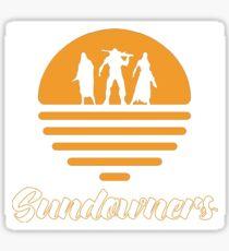 Sundowners Miscellaneous Sticker