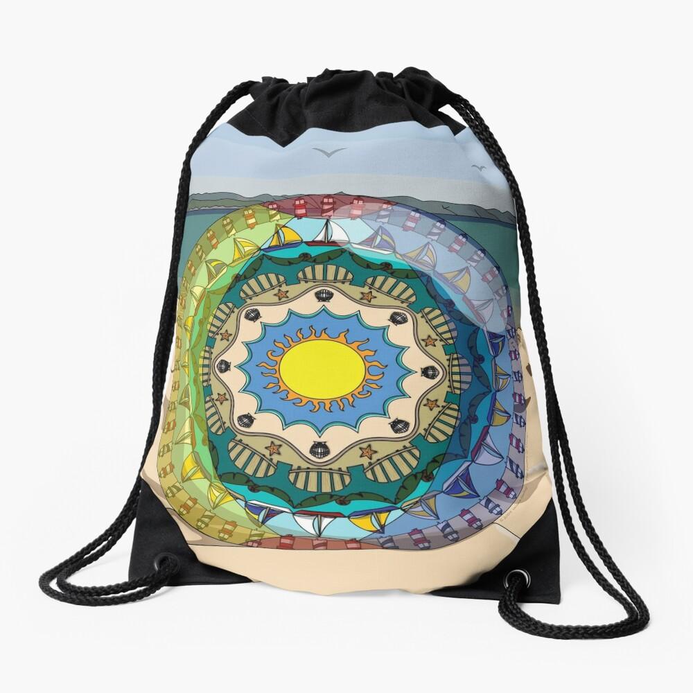 Summer Sunshine Drawstring Bag