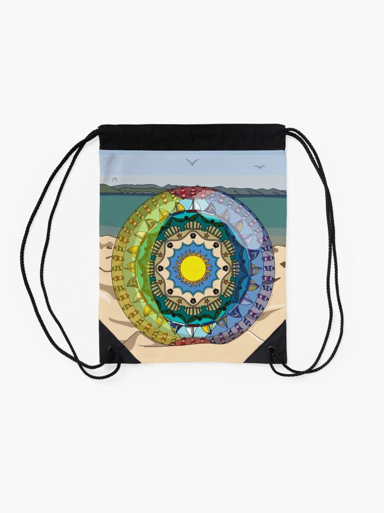 Alternate view of Summer Sunshine Drawstring Bag