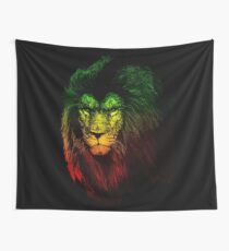 Reggae Lion Wall Tapestry