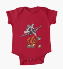 Cute Pilot Pug Dog   Kids Clothes