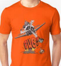 Cute Pilot Pug Dog   Unisex T-Shirt