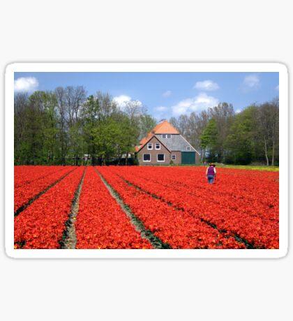 The Tulip Farmer Sticker
