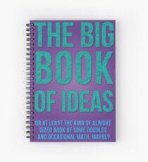 Big Book of Ideas Spiral Notebook