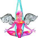 Antigravity Yoga Angel by balgrittella