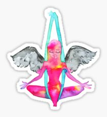 Antigravity Yoga Angel Sticker