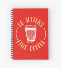 CC Jitters Fine Coffee Spiral Notebook