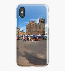 Walled City Market, Guildhall Square, Derry iPhone Case/Skin