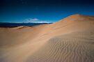 Half Moon Light - Death Valley by Michael Treloar