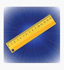 ruler Photographic Print