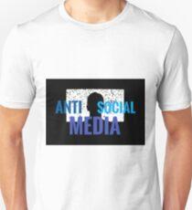Anti Social media Unisex T-Shirt
