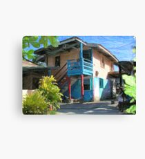 Treva's House Canvas Print