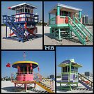 South Beach Huts by DJ Florek