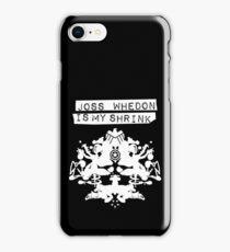 """Joss Whedon Is My Shrink"" - Light iPhone Case/Skin"