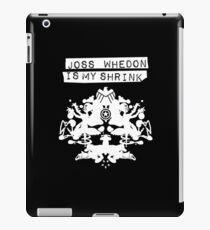"""Joss Whedon Is My Shrink"" - Light iPad Case/Skin"