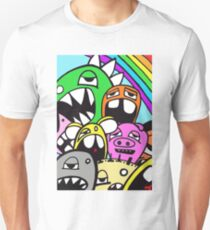 Monster Rainbow Unisex T-Shirt