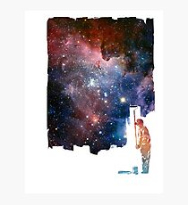 Repainting the Universe Photographic Print