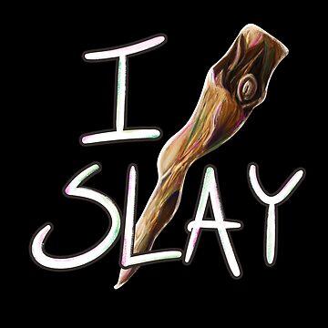 I Slay | Mr. Pointy  by bitemefox