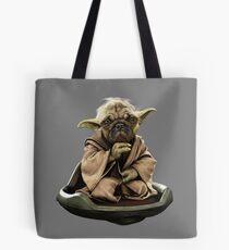 Yoda Pug Star Wars Tee Tote Bag