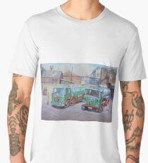 Albion Sugar Fodens at Rochester depot. Men's Premium T-Shirt