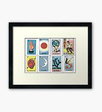 Mexican Tarot Framed Print