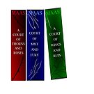 A Court of Thorns and Roses series by amandakoz