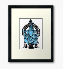Lord Ganesha Hindu Elephant headed God Framed Print
