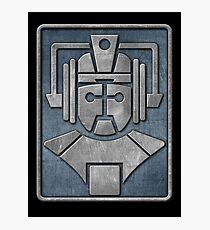 Cyberman Logo Photographic Print