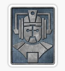 Cyberman Logo Sticker