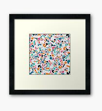 Abstract Disco 1.2 Framed Print