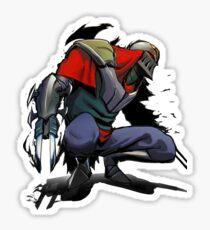 Ninja Zed Sticker