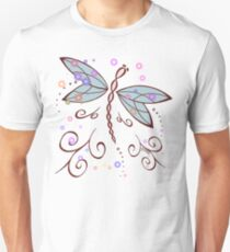 Dragonfly and Lightning Bugs  T-Shirt